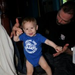Dom dancing with Dad